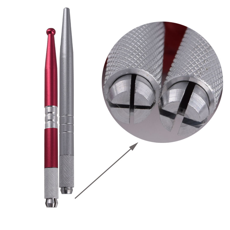 tattoo pen silver red