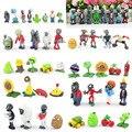 Plants VS Zombies Figura de Acción Del Juego 3 cm ~ 8 cm PVZ Colección Figuras Juguetes Regalos Planta de 52 unids/set VS. Zombies