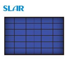 6 В в 1670mA Вт 10 Вт 10 Вт солнечная панель стандартная эпоксидная поликристаллическая кремния DIY батарея мощность зарядки Модуль Мини солнечных батарей игрушка