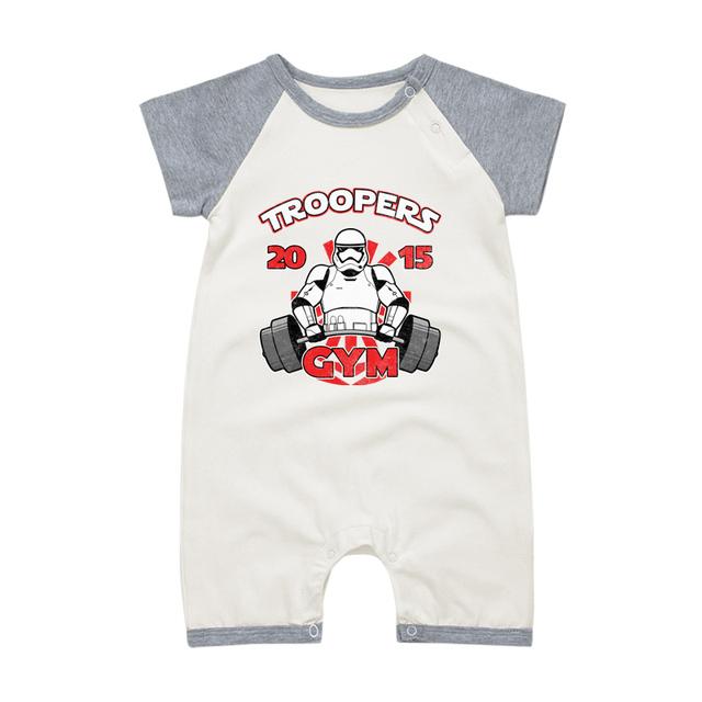 Pyjamas Bébé TROOPER KART – Barboteuse Bébé À Manches Courtes