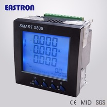 4-20mA Output SMART X835-AO Three Phase 96*96mm Multi-function Smart Power Meter Panel Mounted Energy Meter, 1/5A CT connect