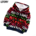 2016 New Autumn Winter Kids Hoodies Boys Clothes Velvet Children Clothing Boy Sweatshirt Baby Coats and Jackets Hooded