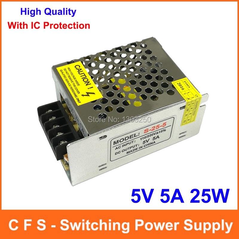 Single Output Switching power supply 5V 5A 25W Transformer 110V 220V ...