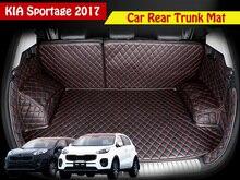 Для KIA Sportage 2018 2016 2017 QL заднего хвост багажник автомобиля коврик подушки прочный коврики для ног Тюнинг автомобилей