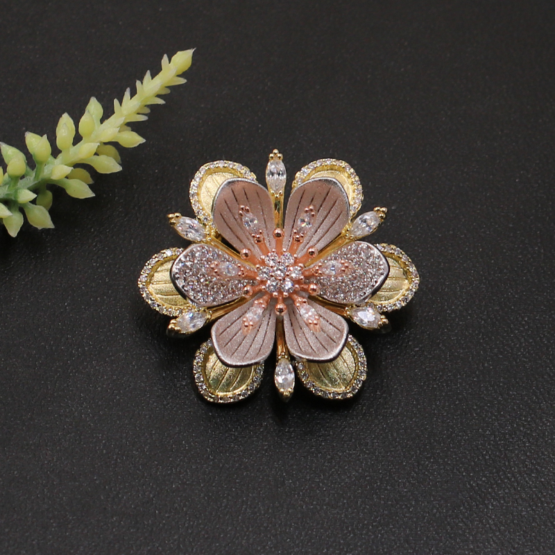 Lanyika, модные ювелирные изделия, роскошные, уникальный дизайн, цветок, брошь, булавка для помолвки, свадьбы, микро проложенный, популярные подарки|Броши| | АлиЭкспресс