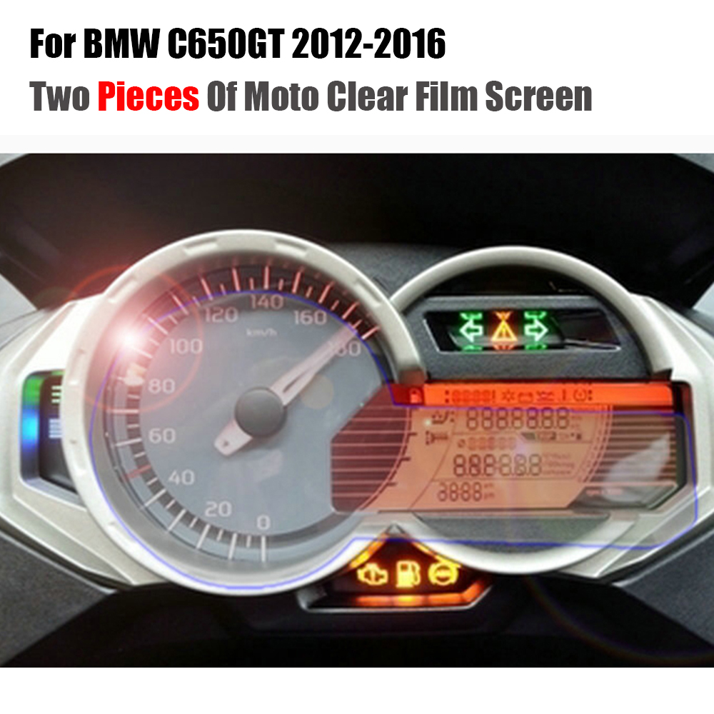 For BMW C650GT 2012-2016 Cluster Scratch Protection Film Screen Protector TPU C650 GT C 650 GT