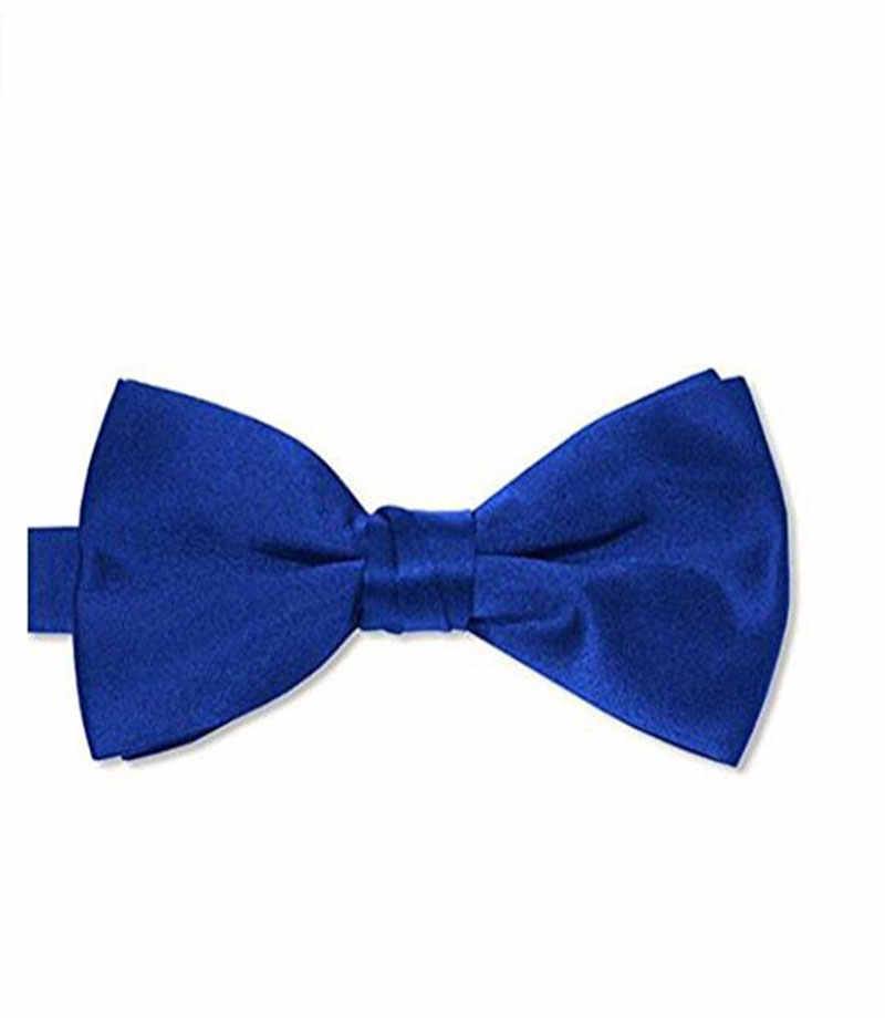 2020 Hot Selling Mens Satin Bow Tie Pre-Tied Tuxedo Bow Tie Adjustable Length One Size