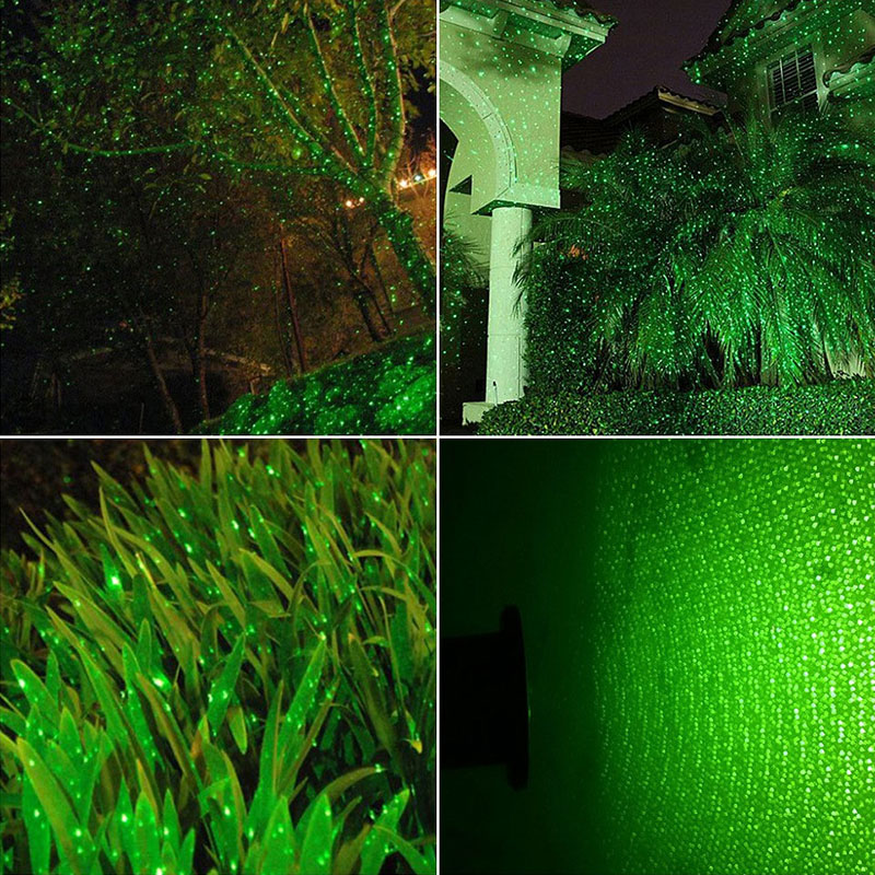 все цены на Christmas Lights Outdoor Fairy Light Holiday Home Decorations Single Green Laser Projector