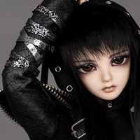 Flash sale !free shipping! makeup & eyes included !top quality 1/4 (42cm) bjd doll Minifee karsh elf assassin bjd sd doll