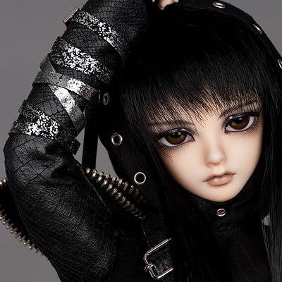 Vente Flash! Livraison gratuite! Maquillage & yeux inclus! Qualité supérieure 1/4 (42 cm) bjd poupée Minifee karsh elf assassin bjd sd poupée