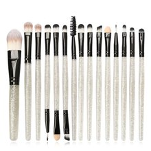 15pcs Flash makeup brush Professional Makeup Brush Set Cosmetic Foundation Powder Brushes kit Tool 15pcs professional makeup brushes bag cosmetic makeup brush brushes set tools foundation powder eyeshadow maquiagem new brand
