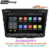 SilverStrong ips Android9.0 4G 32G Автомобильный DVD для hyundai Creta IX25 2014 18 2DIN DVD Радио Навигация опция 2G16G/DSP/TPMS/DVR