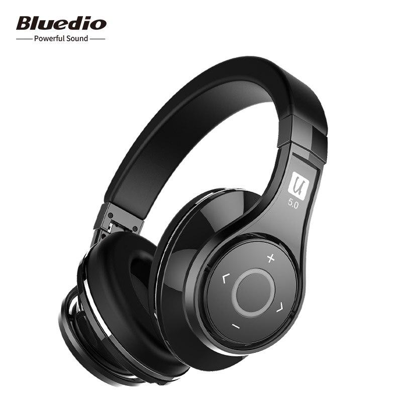 Bluedio U (UFO) 2 haut de gamme Bluetooth Sans Fil Casque avec commande Vocale APTX Breveté 8 Pilotes HiFi Sur-oreille Casque avec mic