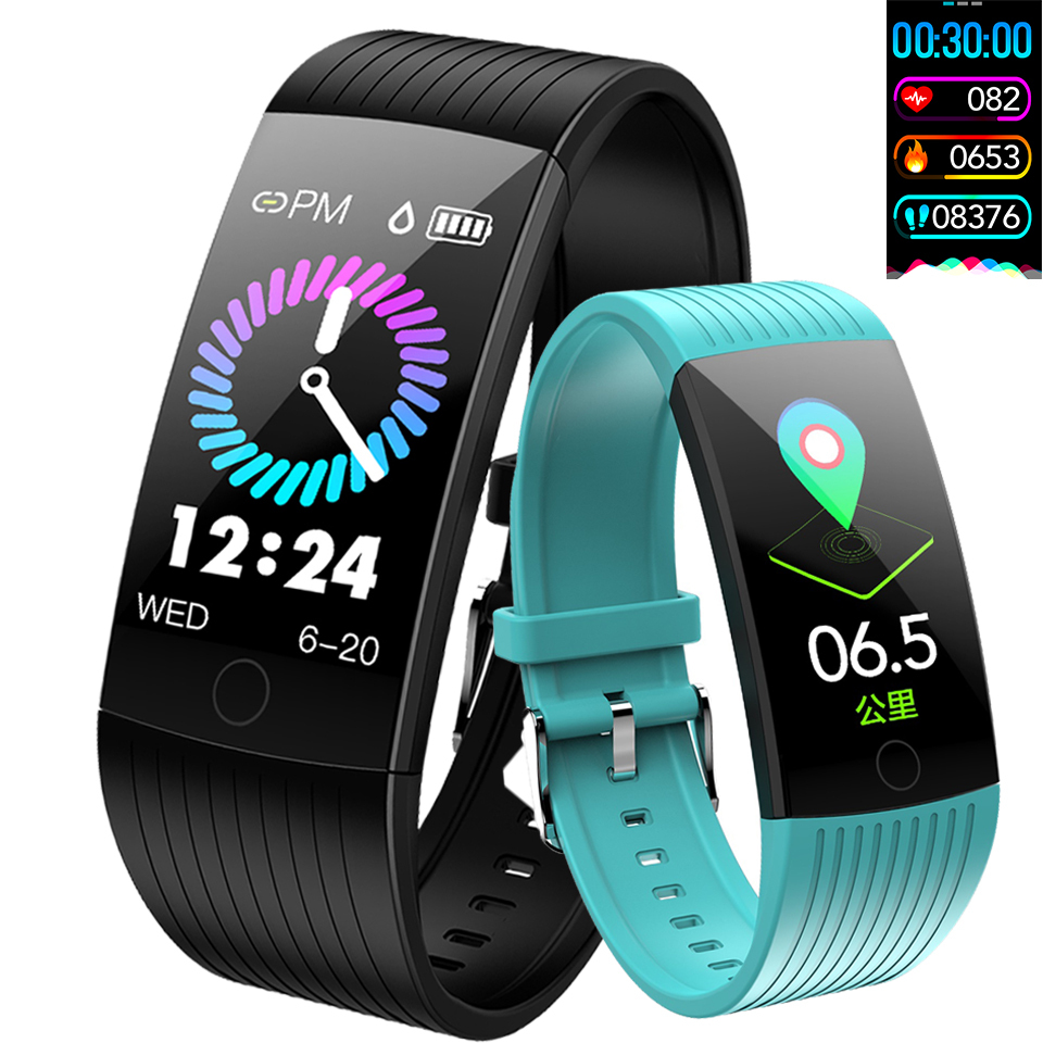 Straightforward Smart Watch For Men Women Heart Rate Monitor Smart Band Fitness Tracker Pedometer Running Sport Smart Watch Band For Ios Android Attractive Fashion Men's Watches Watches
