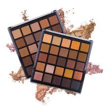 цена Matte Eye Shadow Pallete 25 Earth Colors Gliltter Eyeshadow Palette of professional Cosmetic 2018 New Make Up Palette eyeshadow