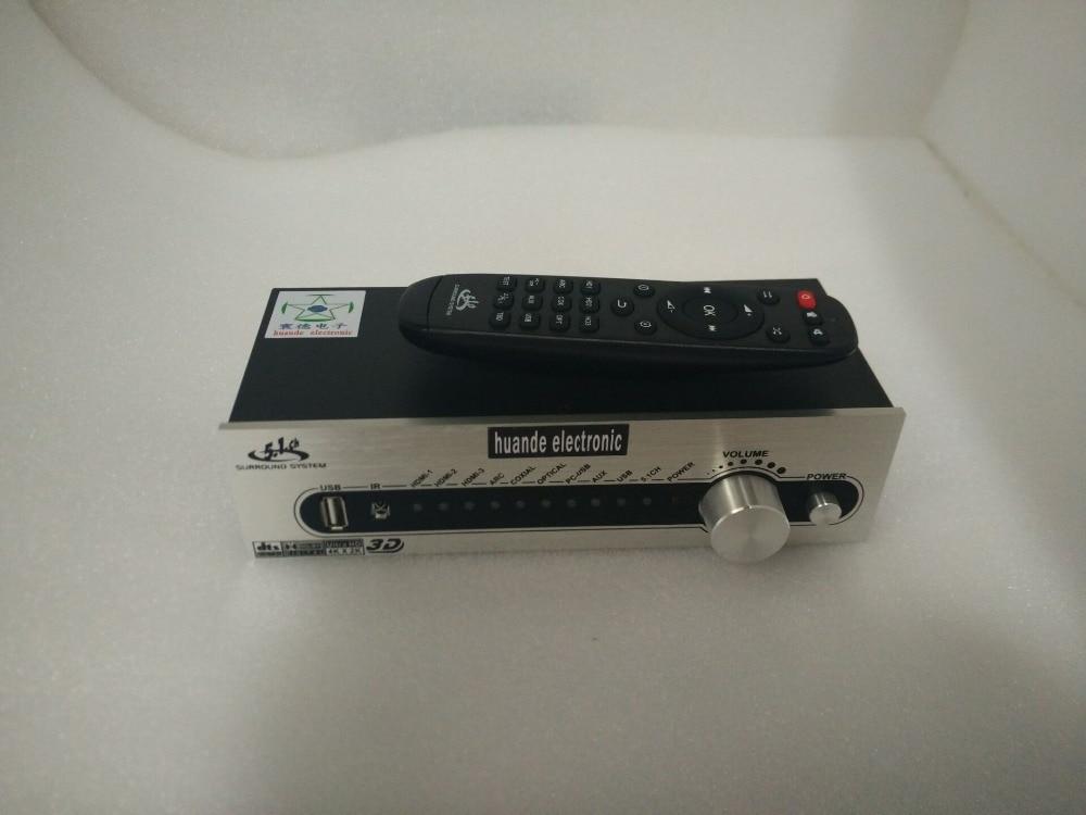 Support 3D FLAC APE DTS AC3 WAV HDCD DSD AAC WMV MP3 LPCM M4A Dolby USB Fiber Coaxial 5.1 Channel 4K * 2K HDMI audio decoder 4k 2k hdmi dts ac3 5 1 audio decoder