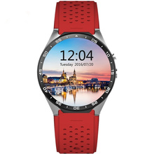 Best 3G wifi kingwear Kw88 android 5.1 OS Smart watch 1.39 inch screen 2.0MP Camera SmartWatch phone support bluetooth nano SIM