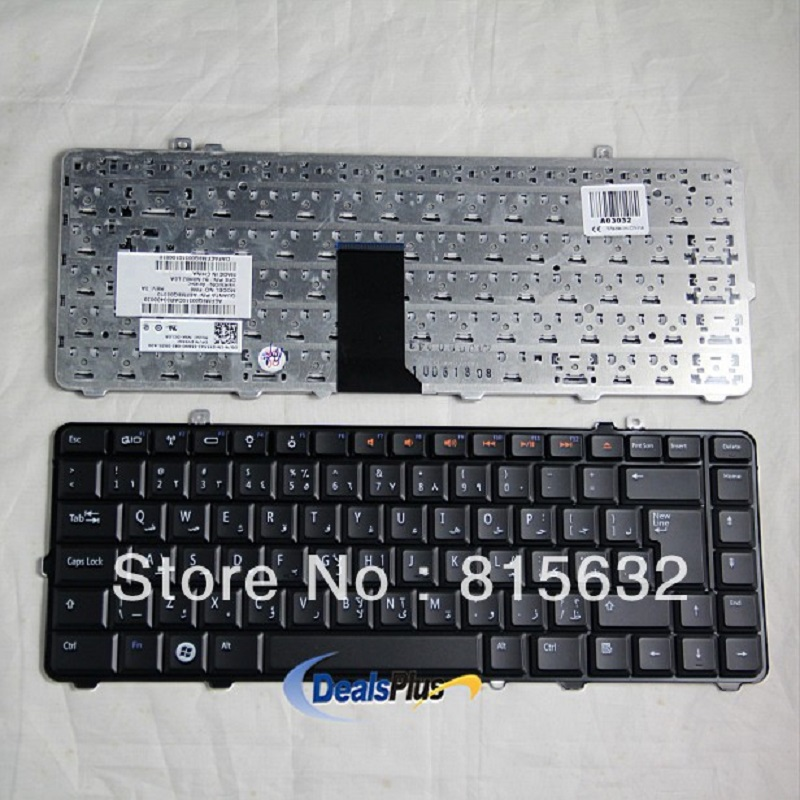 FOR Brand New Dell Studio 1555 1557 Arabic AR Keyboard 9J.N0H82.L0A Black, wholesale !