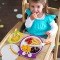 Criativa Dos Desenhos Animados Forma Coruja Crianças Bento Lanche Tigela Alta Qualidade Melamina Prato de Jantar Crianças Bebê Seguro Tigela Feito de Não Tóxico