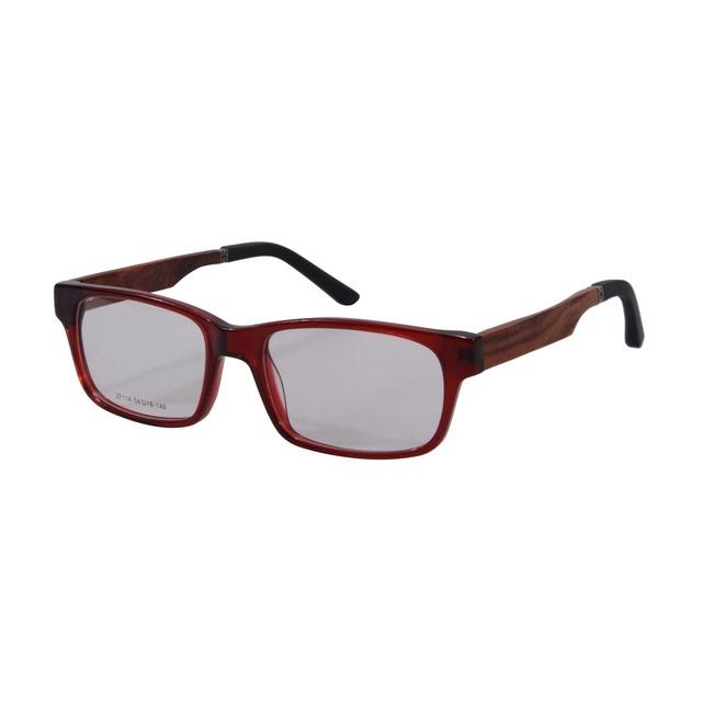 Retro Do Vintage Vidros Ópticos Quadro Mulheres Homens Marca Designer Óculos Frames Oculos de grau Prescrição Eyewear ZF114