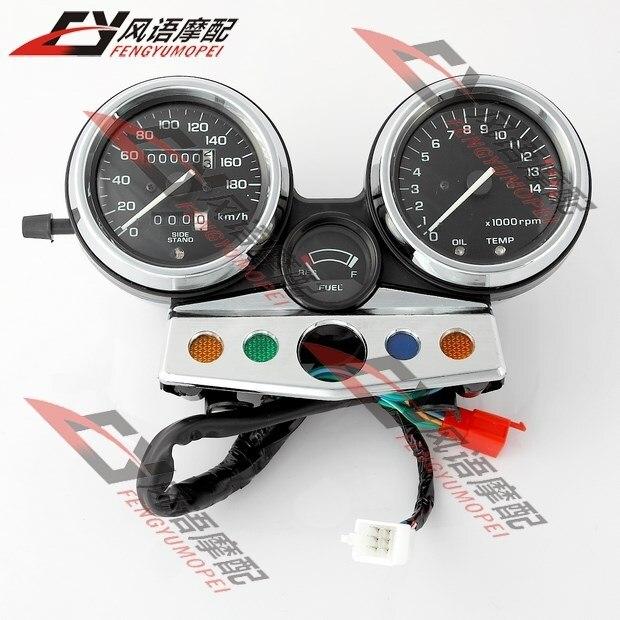 For Honda CB400 1995 1996 1997 1998 Motorcycle White Speedometer Tachometer speedo clock instrument assembly gauge accessories