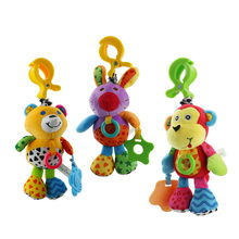 Soft Musical Box Baby Toys For Newborns Infant Crib Bed Stroller Toy Colorful Hanging Educational Rattle Toy For Gift D071