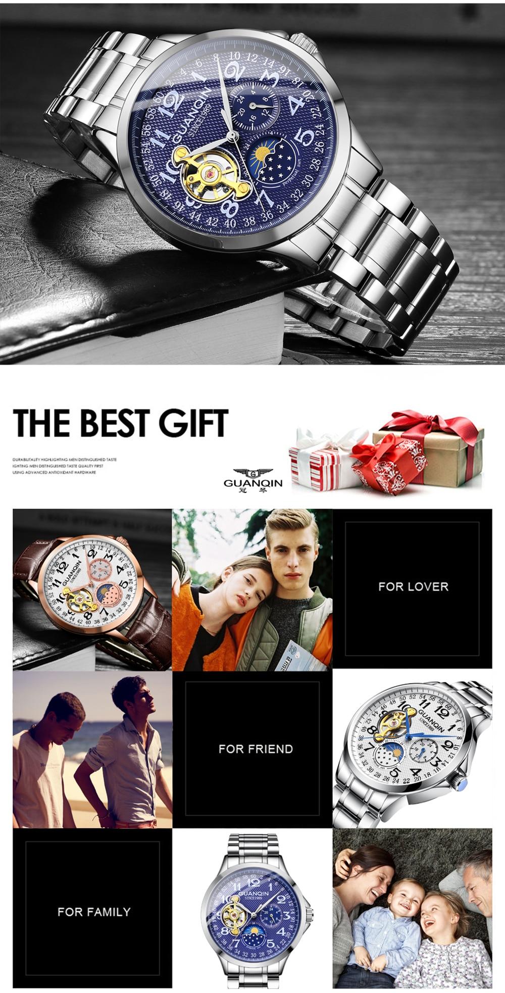 HTB1Cyz3XRWD3KVjSZKPq6yp7FXag GUANQIN mechanical watch men waterproof automatic skeleton tourbillon clock men business top brand luxury Relogio Masculino