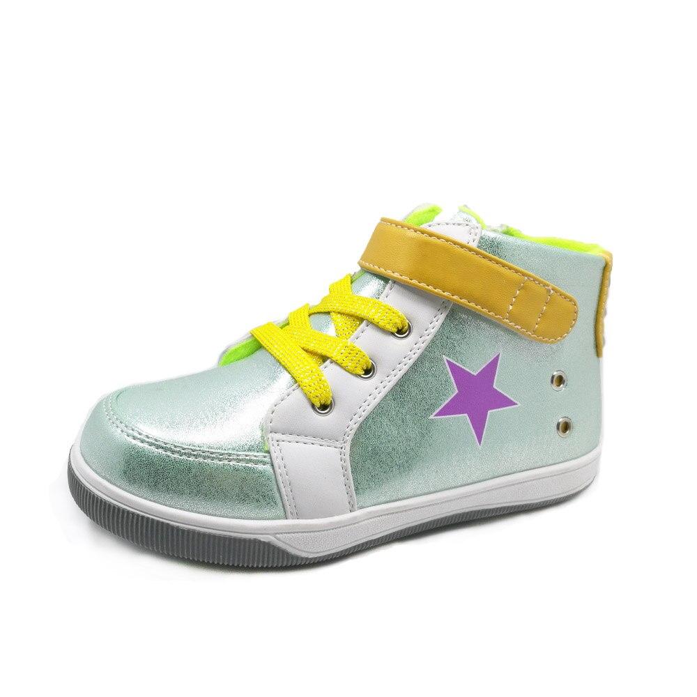 Newborn Baby Kids Flat Boots Girl Boys Cute Ankle Walkers Zipper Sneakers Shoes