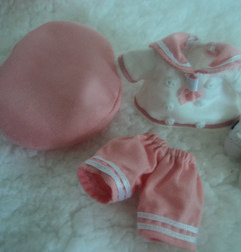 lati clothes set pink