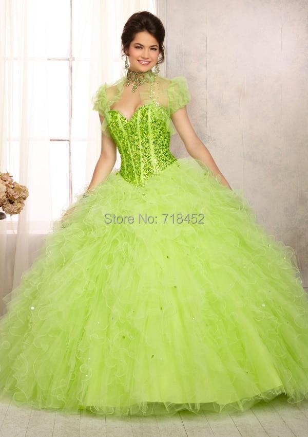 Online Get Cheap Lime Green Quinceanera Dresses -Aliexpress.com ...