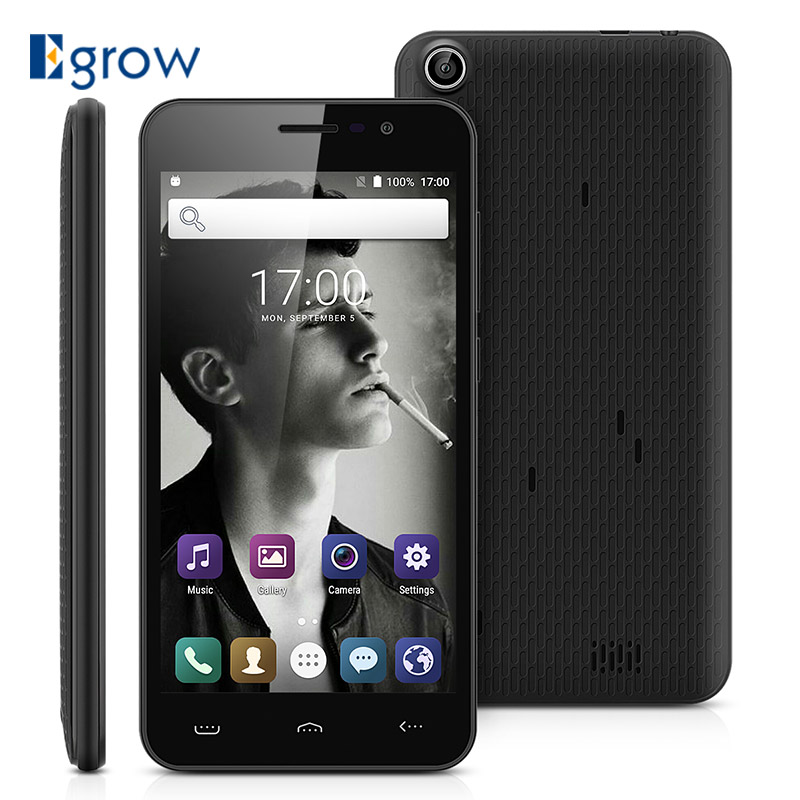 Original HOMTOM HT16 MTK6580 Quad Core Android 6.0 1GB RAM 8GB ROM Smartphone 5.0 Inch 1280x720 3000mAh 3G WCDMA Mobile Phone