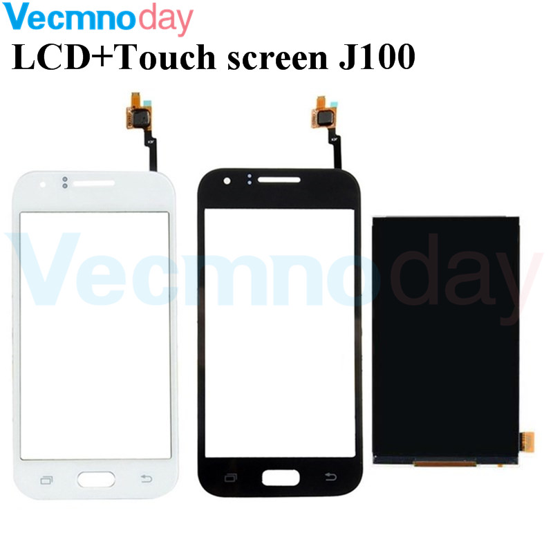 Vecmnoday Original Für <font><b>Samsung</b></font> Galaxy J1 <font><b>J100</b></font> J100H J100F <font><b>LCD</b></font> Display + Touchscreen Digitizer Sensor Ersatzteile image