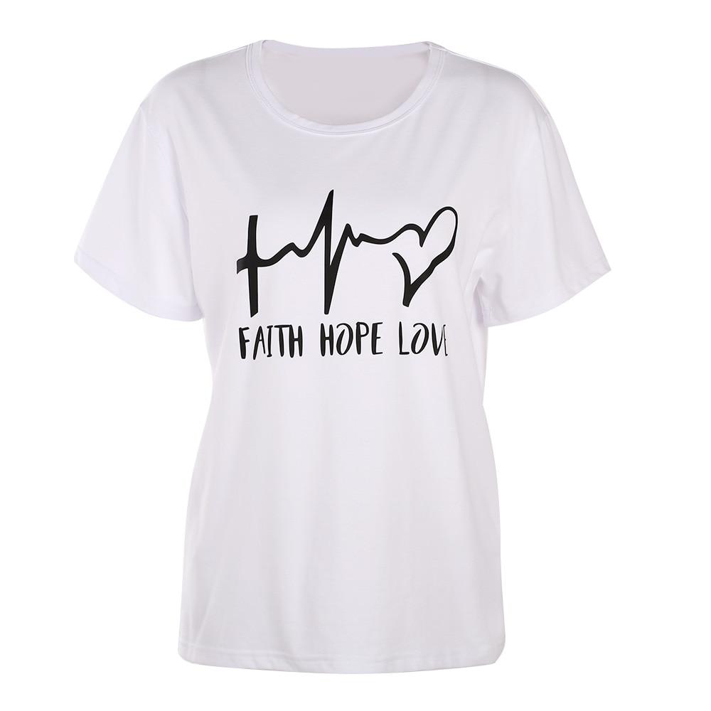 Sleeve Faith T Shirt 4