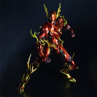 Boxed DC Comics Variant Play Arts Kai The Flash Figure Doll Movie PVC Action Figure Resin Collection Model Toy Gifts