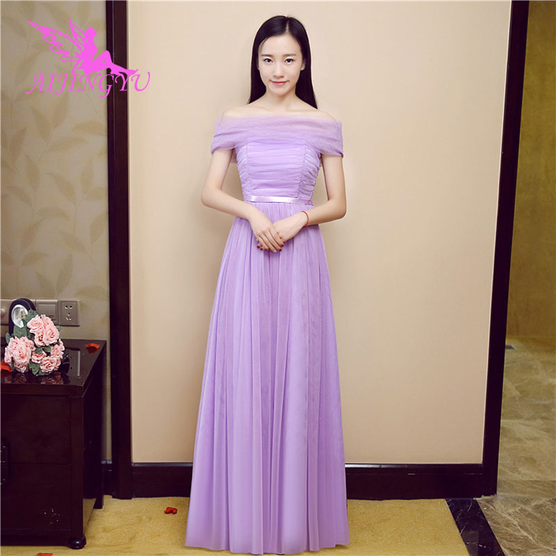 AIJINGYU 2018 sexy women's gown prom   dress   plus size   bridesmaid     dress