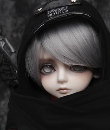Free shipping ! makeup&eyes included !  top quality 1/4 bjd doll boy LUTS Kid Delf Boy THE YOUTH IN DARK WARRIORS BORY Ver.1
