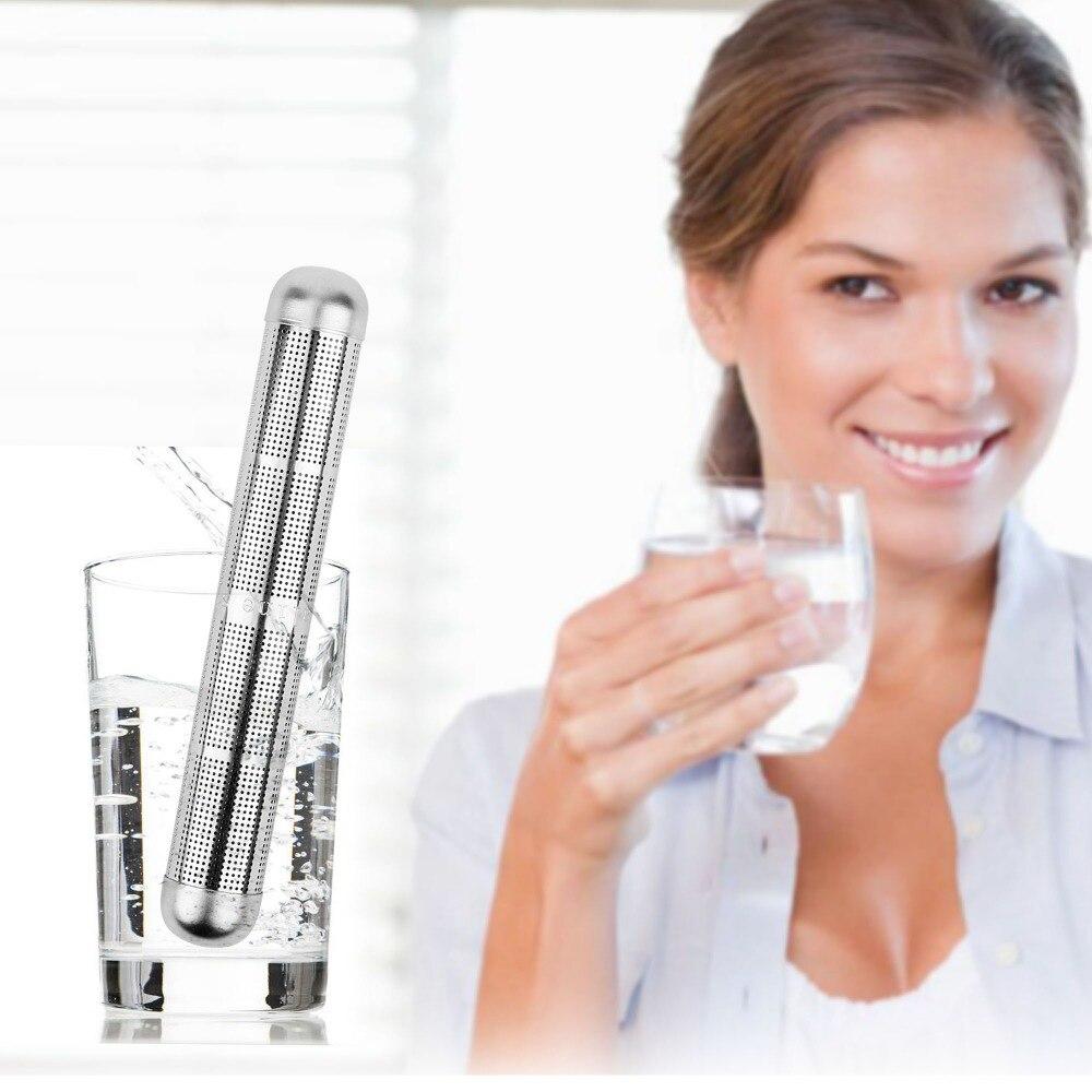 5pcs Alkaline Water Purifier Hydrogen Negative Ionizer Stainless Steel Stick Raise PH Natural Mineral Enhance Human