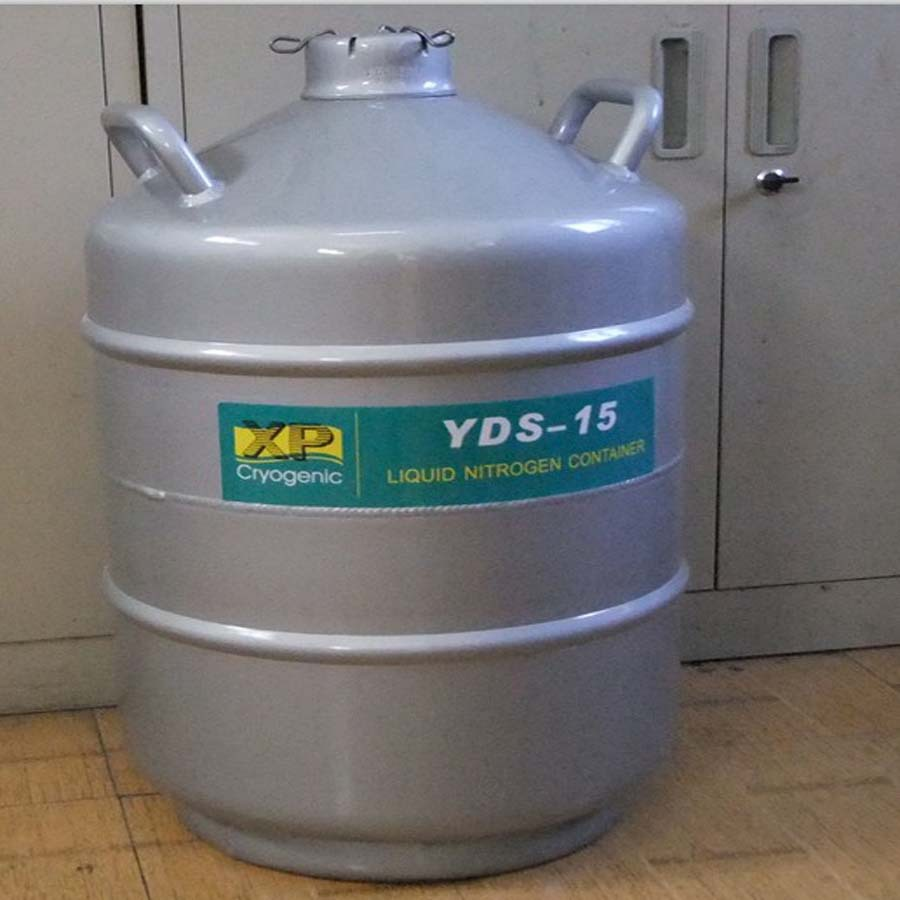 YDS-15 2015 High Quality Liquid Nitrogen Storage Container Liter Medical Use Liquid Nitrogen Container