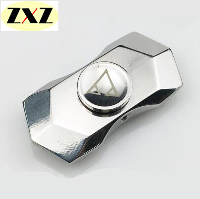 Diamonds shape fidget spinner EDC Stainless steel High-end hand spinner Texture of material Vinger Focus ADHD