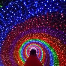 220V 10M 100Leds multicolor Lights Wedding birthday Party Decorations Celebrations Events Home Decor Christmas led