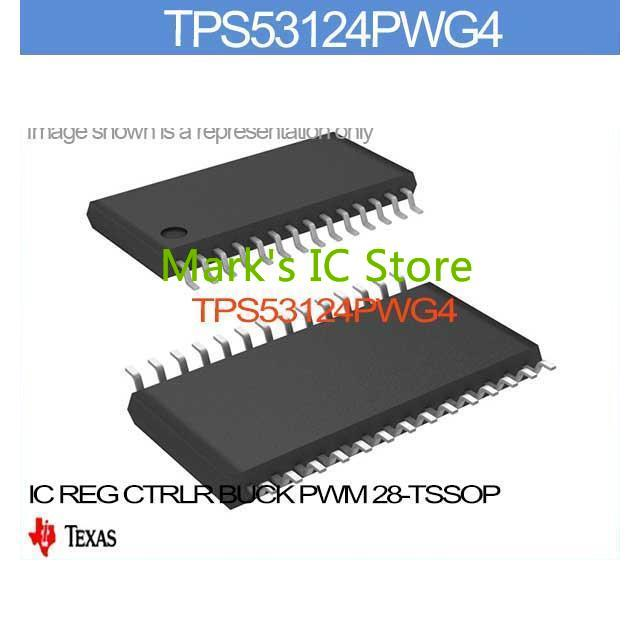US $74 02 |TPS53124PWG4 IC REG CTRLR BUCK PWM 28 TSSOP TPS53124PW 53124P  TPS53124 53124PW TPS531 53124PWG-in Integrated Circuits from Electronic