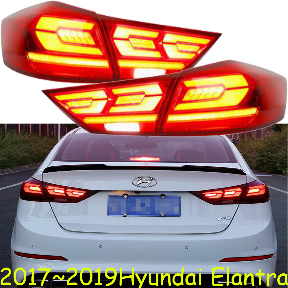 Video,Elantra taillight,2017~2019,LED,car accessories,accent,Elantra fog light,creta,santafe,tucson,lantra,Elantra rear light-in Car Light Assembly from Automobiles & Motorcycles    1