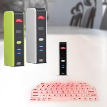 VBESTLIFE Wireless Bluetooth Laser Virtual Projection Keyboard Touchpad Mouse