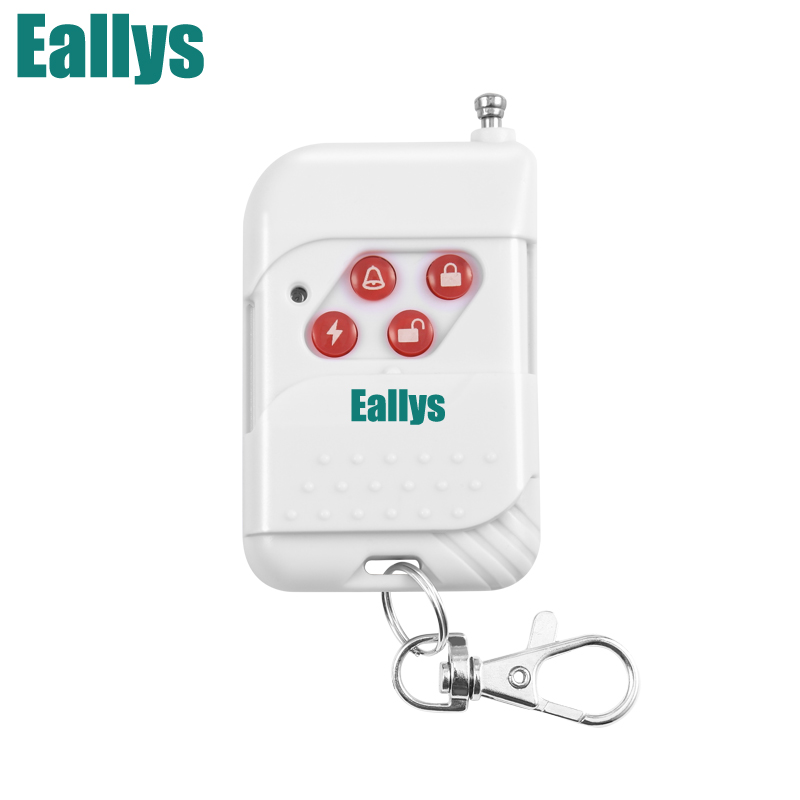 Wireless Plastic Remote Control Button For WIFI GSM PSTN Alarm Systems Security Home 433Mhz