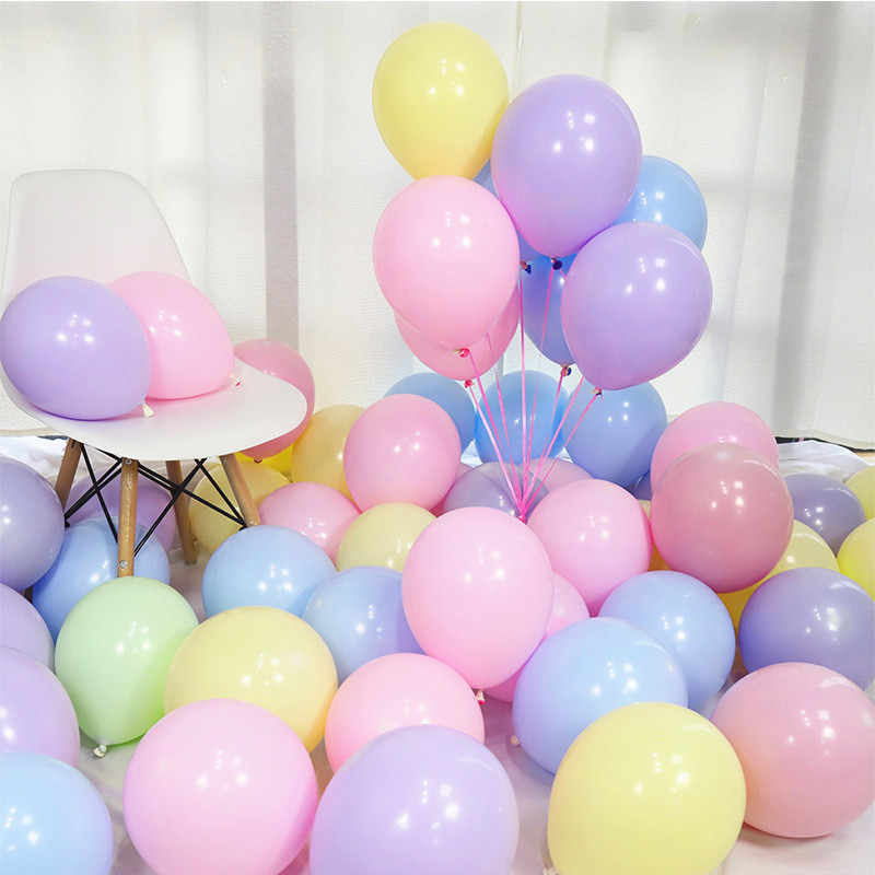 10pcs 12inch 5inch Rose Gold Confetti Balloon Latex Balloon Happy Birthday Baloon Wedding Decoration Ballon Event Party Supplies