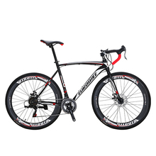 Road Bike XC550 27 Speed Microshift Gears 700C Road Bicycle Dual Disc Brake цена 2017