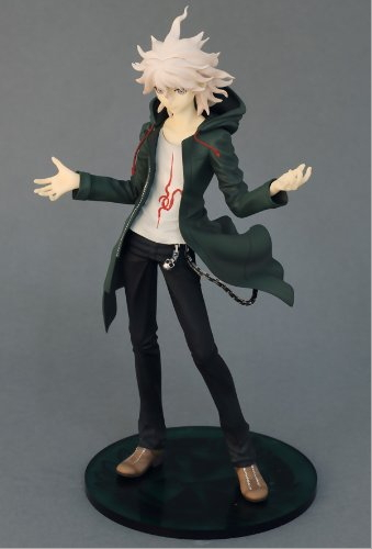 Anime Super Danganronpa 2 Komaeda Nagito 1/7 Scale Painted PVC Figure Collectible Model Toy 21cm KT018 anime k on 5th anniversary akiyama mio 1 7 scale painted pvc action figure collectible model toy 22cm