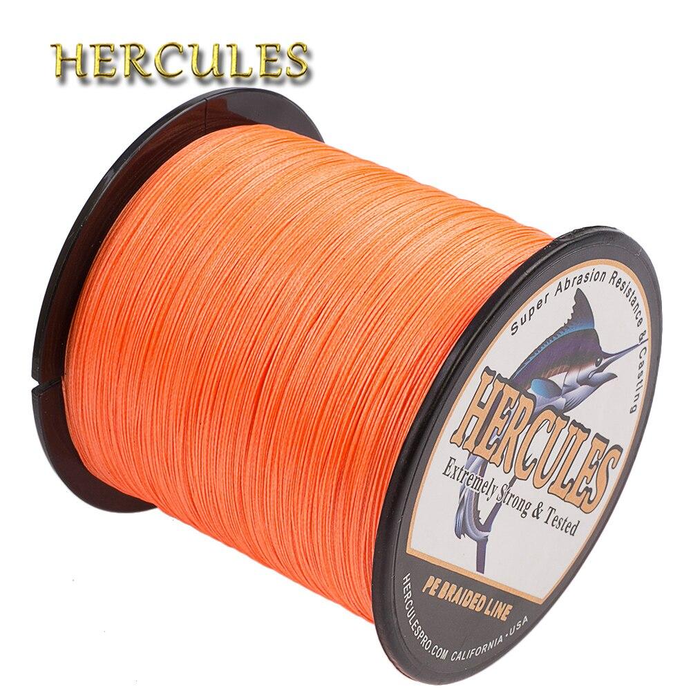 Hercules Braided Fishing Line 10-300LB PE 100M 300M 500M 1000M 1500M 2000M 8 Strands Carp Fishing Accessories Big Game Pesca
