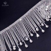 10 mètres très de luxe En Cristal En Verre Strass gland versions Coudre sur Trops chaîne décoration pour De Mariée robe Vêtements Vêtement