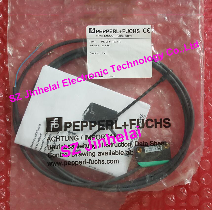 PEPPERL+FUCHS ML100-55/103/115 New and original Photoelectric switch